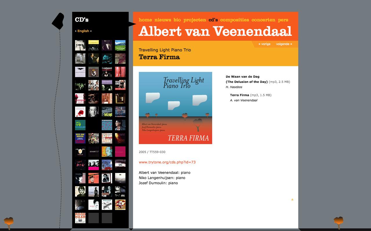 Albert van Veenendaal - CD's - desktop