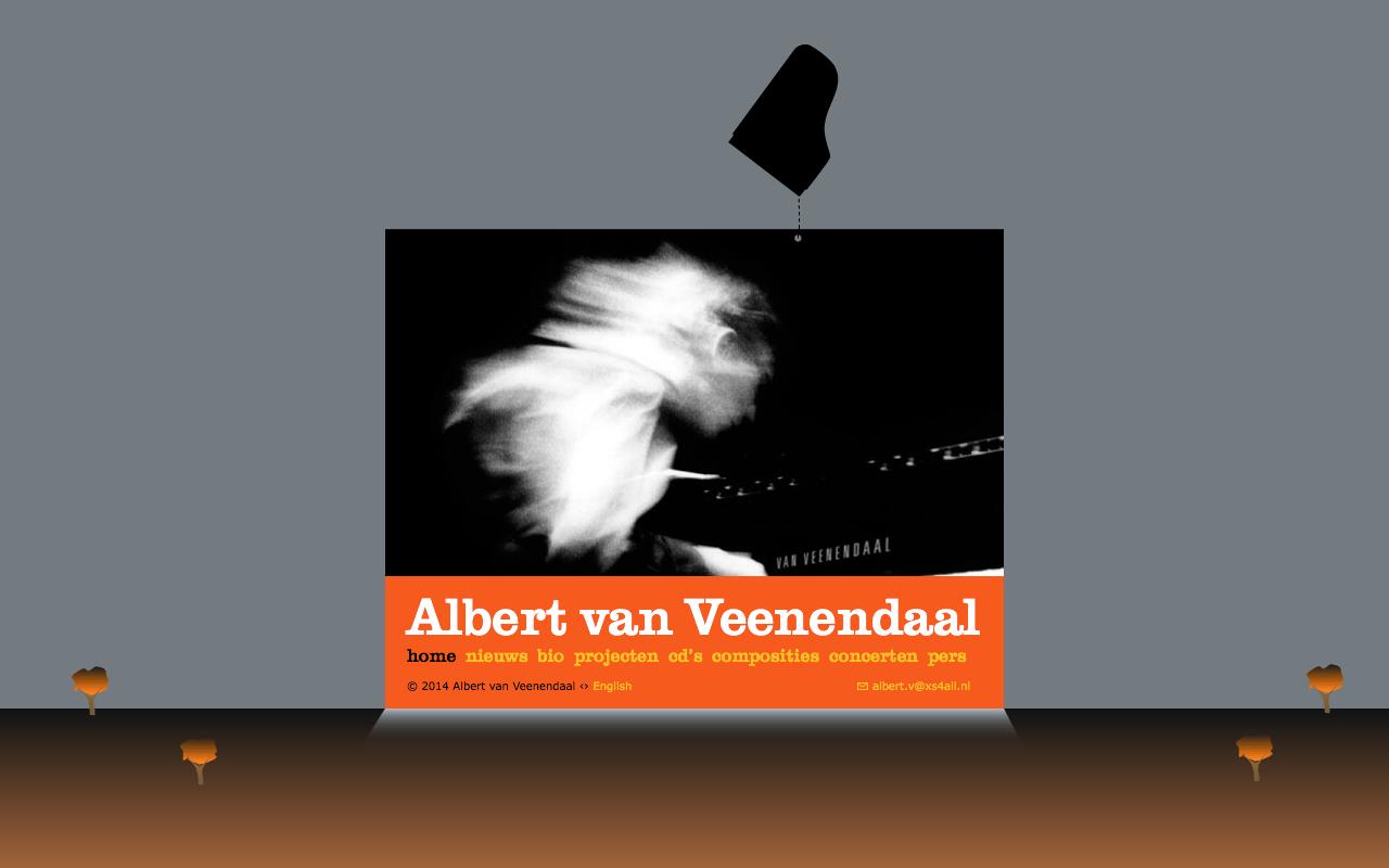 Albert van Veenendaal - Home - desktop