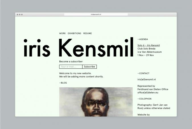 Iris Kensmil - Hero